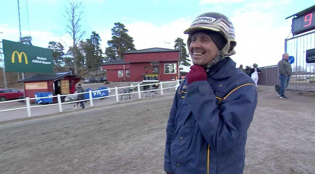 Skötaren Mikael Pettersson.