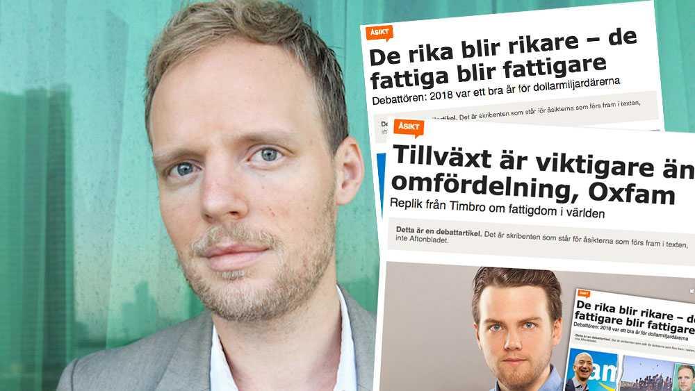 Mycket, mycket mer kan göras för att minska fattigdomen. Däribland att sätta stopp för skatteflykt och införa rättvisare beskattning av de allra rikaste, skriver Robert Höglund, Oxfam Sverige, i sin slutreplik.