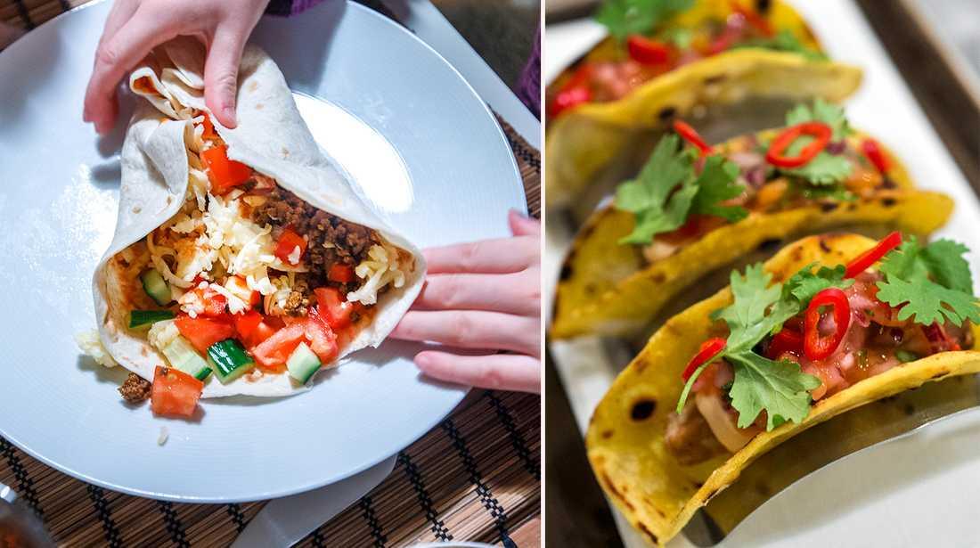 Hur äter du din tacos.