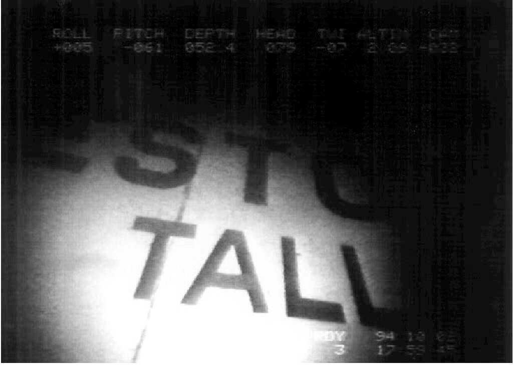 En video från dykningen vid vraket. Arkivbild.