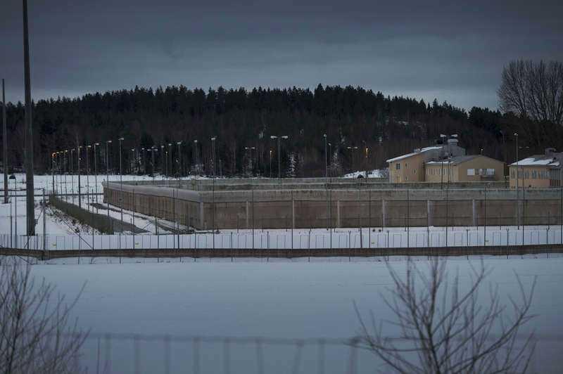 Terrorsektens flagga hittades i Rakhmat Akilovs cell på Hall-anstalten.