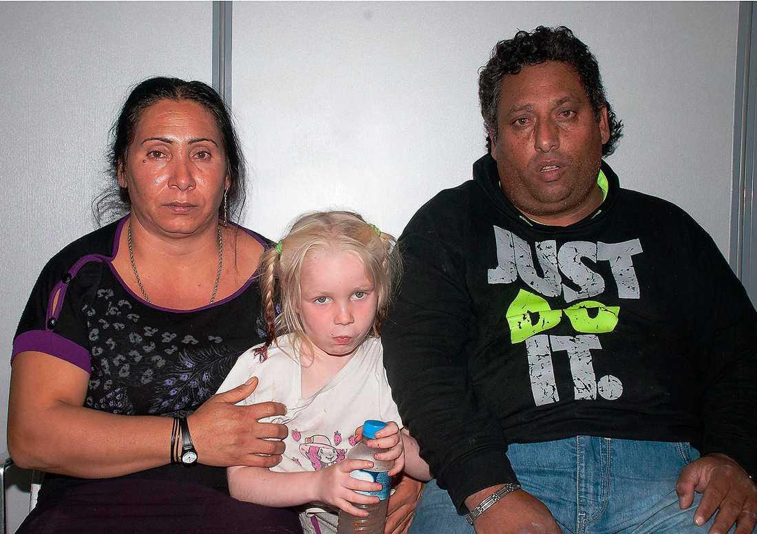 Paret har haft hand om Maria sedan hon var mycket liten.