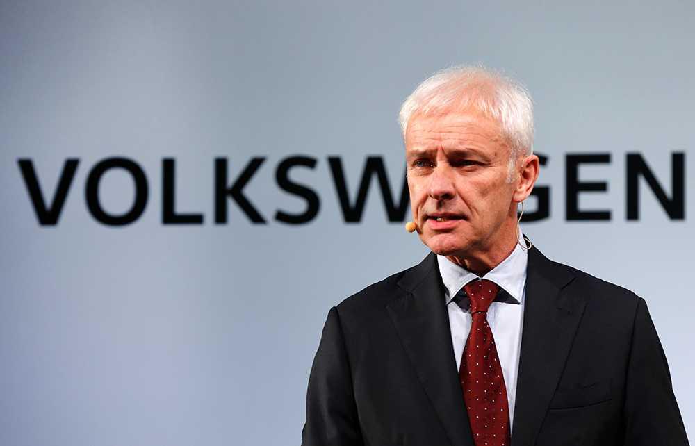 Matthias Müller, Volkswagens vd.