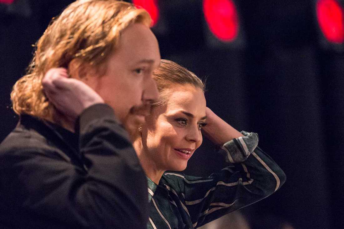 Lars Winnberbäck och Agnes Kittelsen.