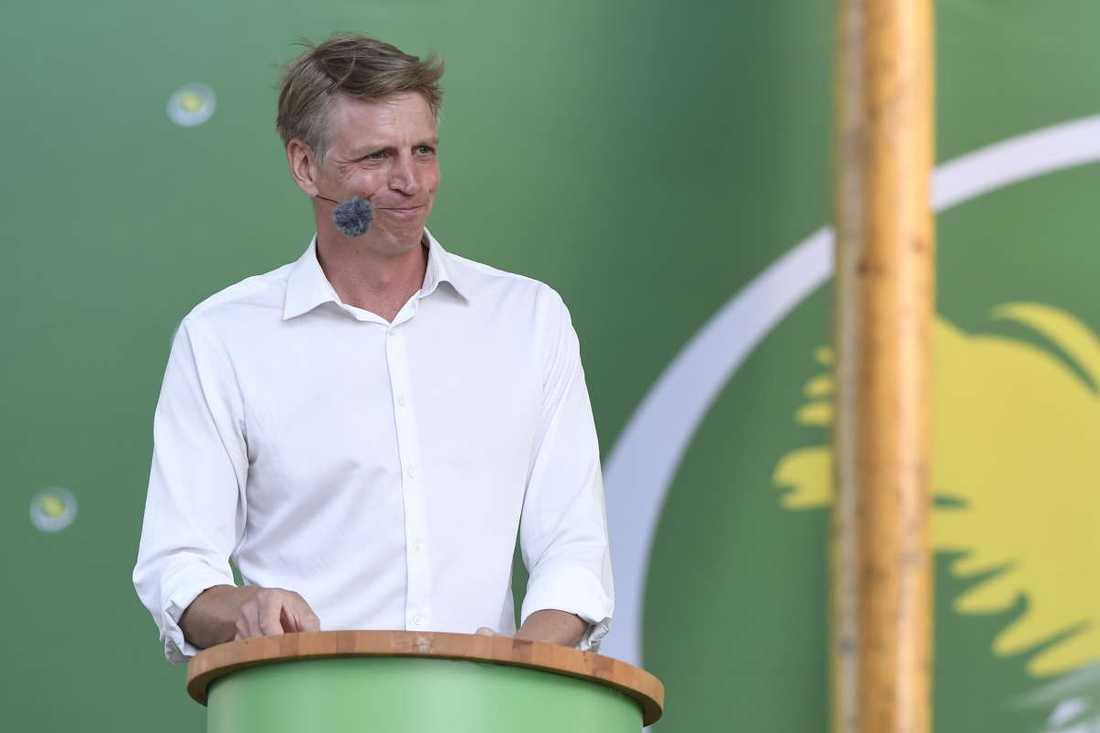 MP-språkröret Per Bolund.
