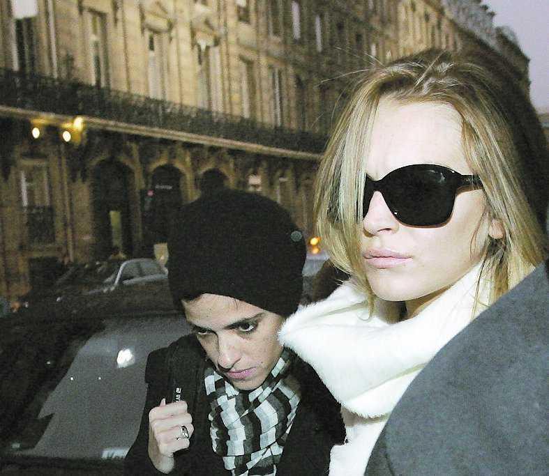 Efter knytnävsfajten gick förhållandet mellan Lindsay Lohan och Samantha Ronson inte att räddas.