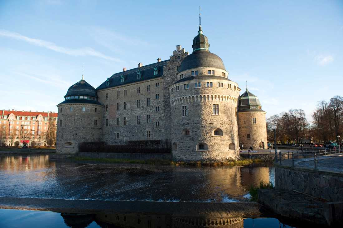 Örebro slott. Arkivbild.