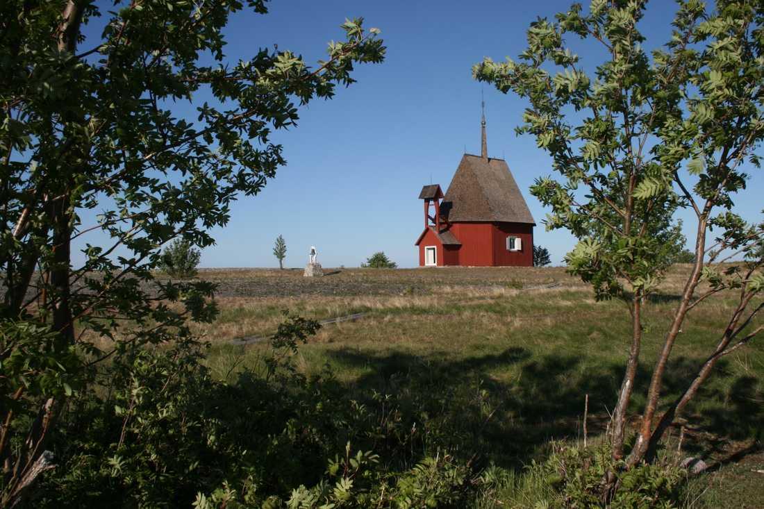 Kapellet på ön kallas för skärgårdens domkyrka.