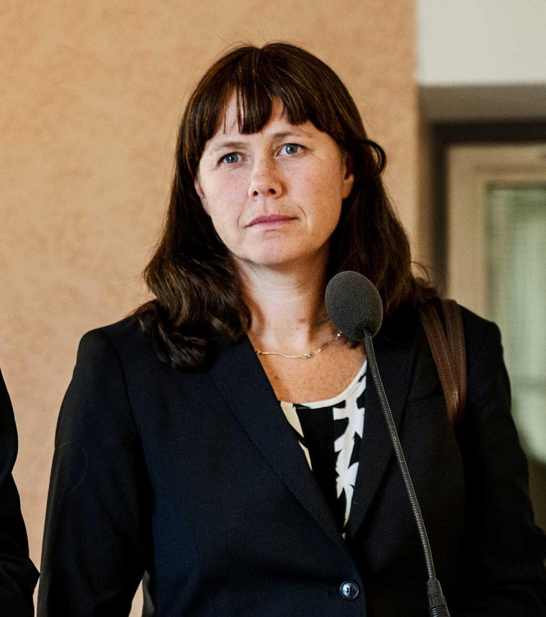 Klimat-, miljöminister och vice statsminister Åsa Romson (MP), 42