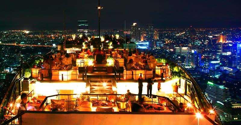 Vertigo Bar & Grill - världens högst belägna utomhusrestaurang