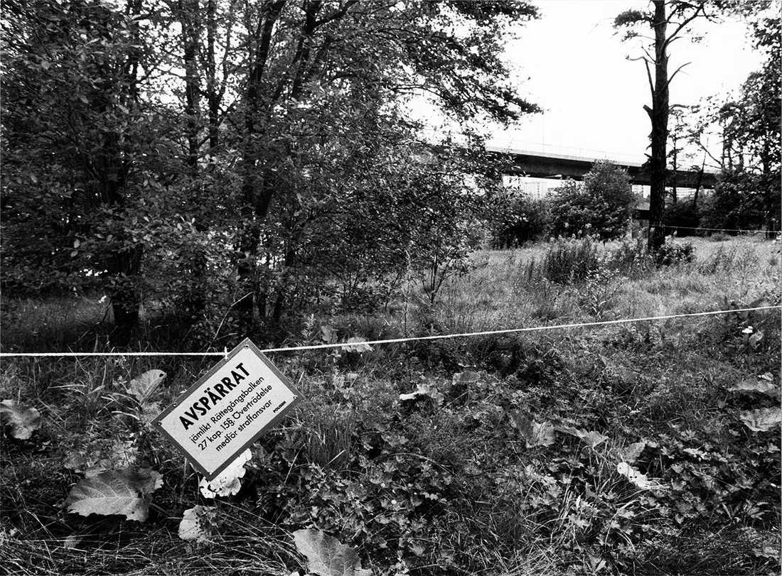 En dryg månad senare hittades delar av henne i plastsäckar vid Talludden under Essingeleden.