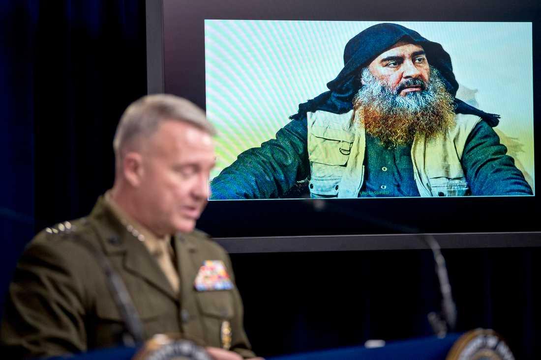 USA:s general Kenneth McKenzie.