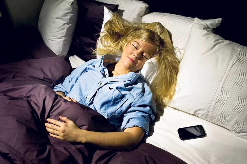 sover sött Monica Karlstein tillbringade varje natt under en vecka med att testa nya appar.
