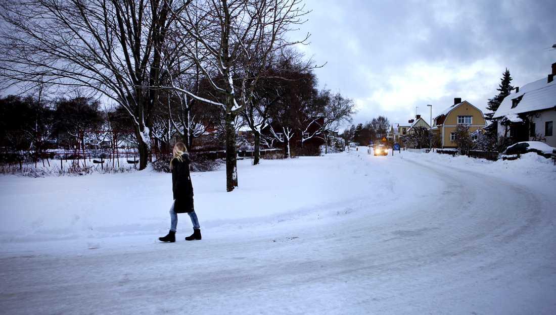 """Här, i en park i Örebro, inträffade den första våldtäkten som """"Örebromannen"""" dömts för. Det var 2005."""