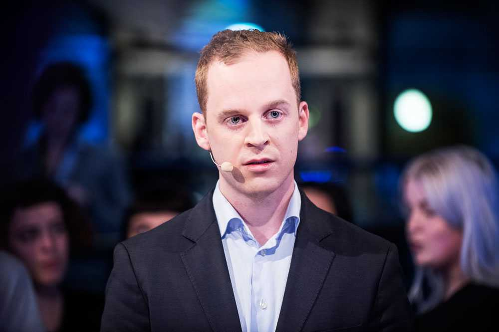 Gustav Kasselstrand i Sverigedemokratisk Ungdom.