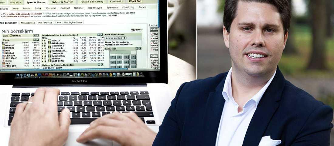 Nicklas Andersson är sparekonom på Avanza bank.