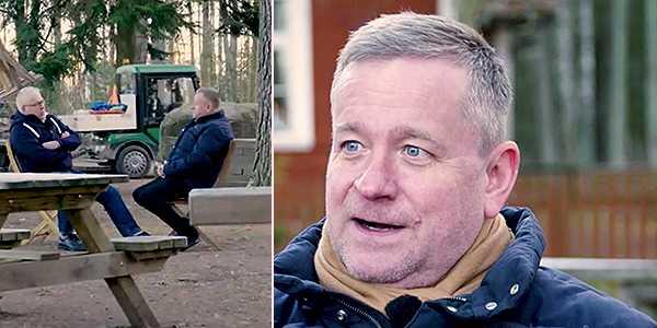 Joakim Widén i Hans G:s vinnarturné.