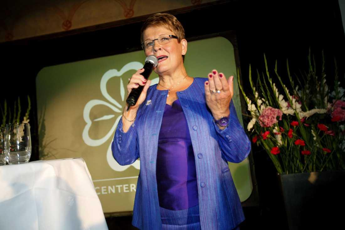 Maud Olofsson, (c) Närings- och energiminister.