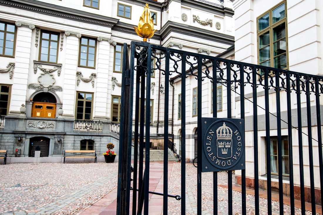 Högsta Domstolen i Stockholm . Arkivbild.