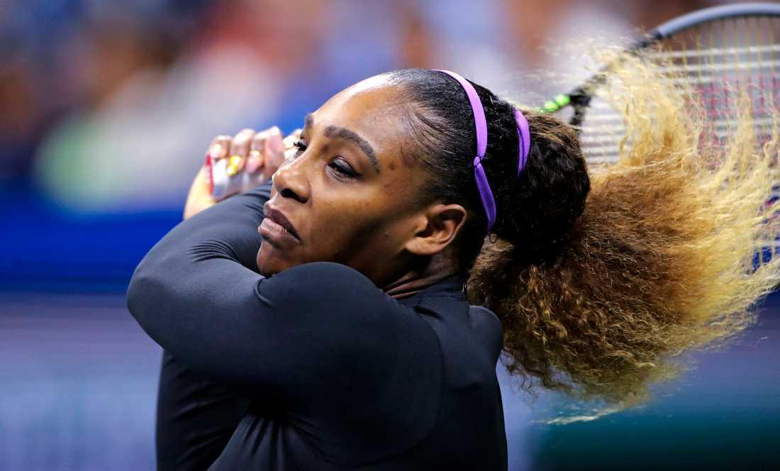 Serena Williams är vidare.
