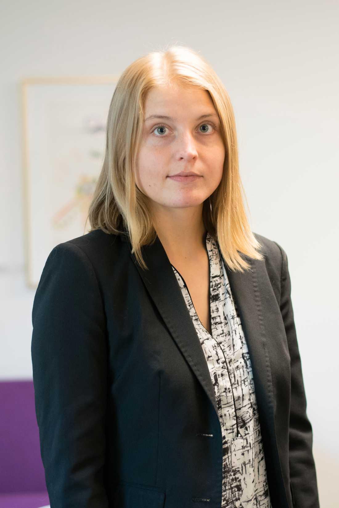 Sofie Ahlin, utredare på Brå.