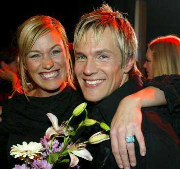 Förra årets vinnare blev Magnus Bäcklund, som har gruppen  Fame  tillsammans med Jessica Andersson.