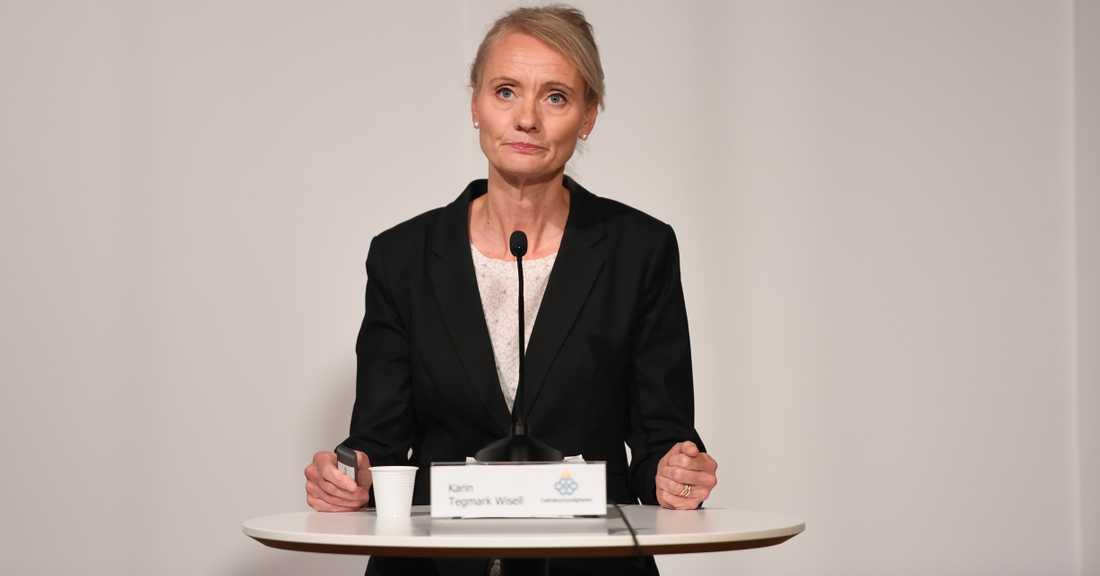 Vi ser en tydlig förändring över tid, säger avdelningschef Karin Tegmark Wisell.