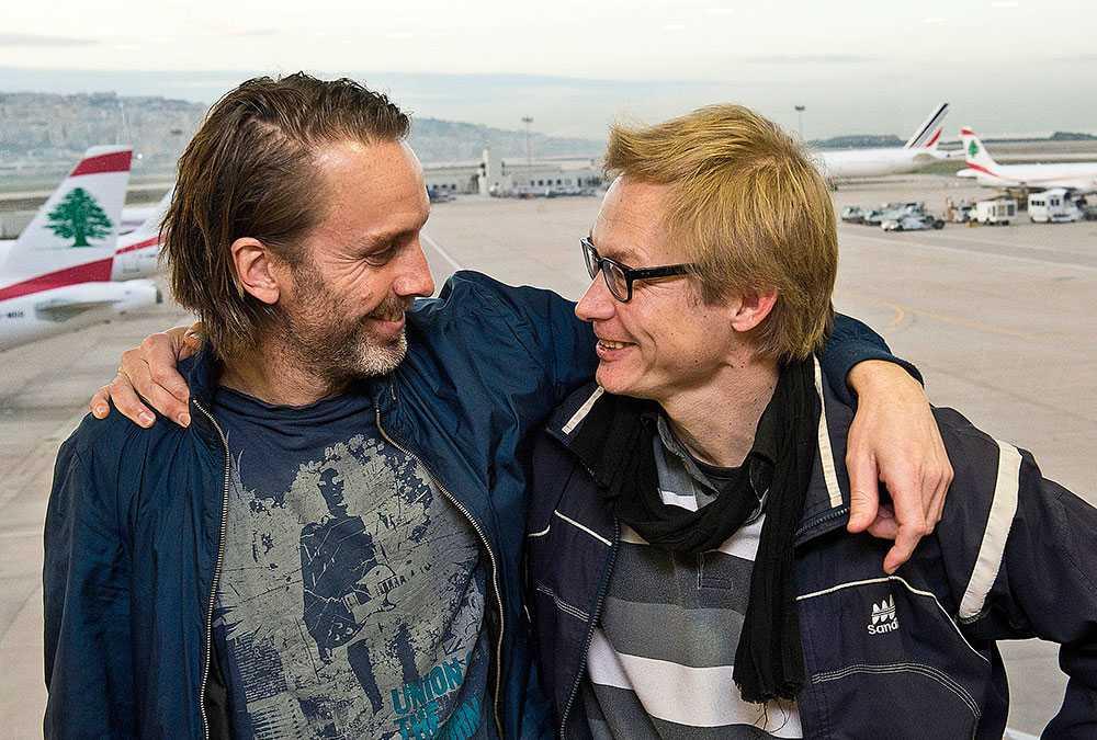 Niclas och Magnus tappade aldrig hoppet. Efter över 40 dygn i fångenskap släpptes de fria.