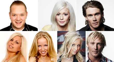 Final days Richard Olsen, Jessica Lindgren, Anton Granlund, Anna Blombäck, Linn Cathrine Höyem, Carina Dahl och Daniel Olsson tävlar om finalplatserna.
