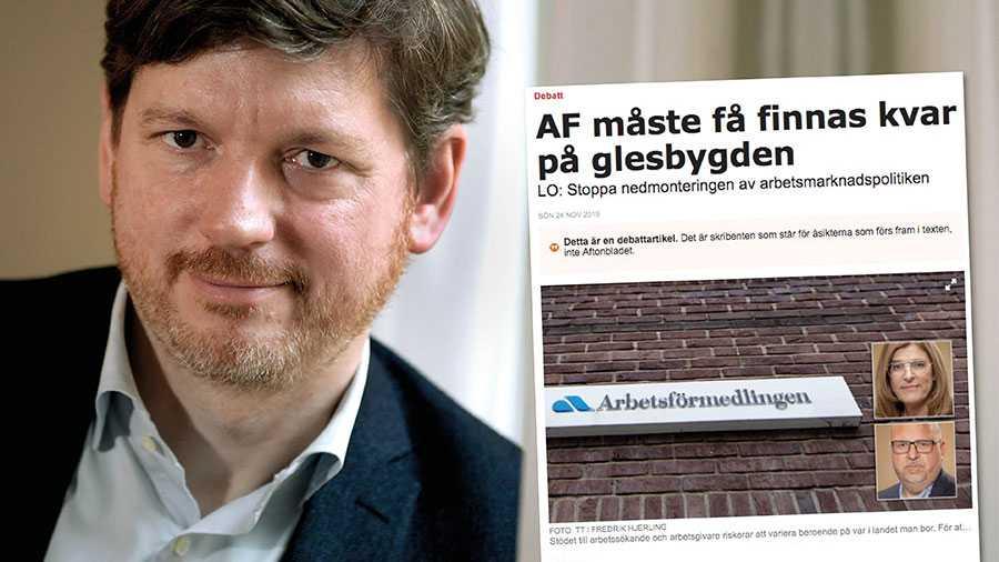 Problemet i dag är att Arbetsförmedlingens ledning beslutat att lämna mer än 100 orter, ett beslut vi motsatt oss. Vi måste få tillbaka en fungerande service till medborgarna på de orterna, skriver Martin Ådahl.