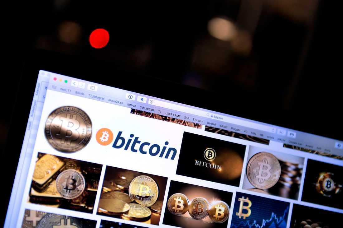 Förövaren har sålt sina tågbiljetter mot bitcoin.