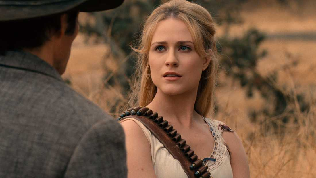 "Evan Rachel Wood återkommer i den tredje säsongen av ""Westworld"". Pressbild"