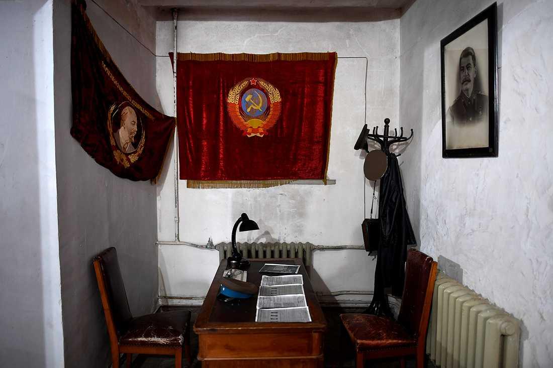Stalins sammanträdesrum.
