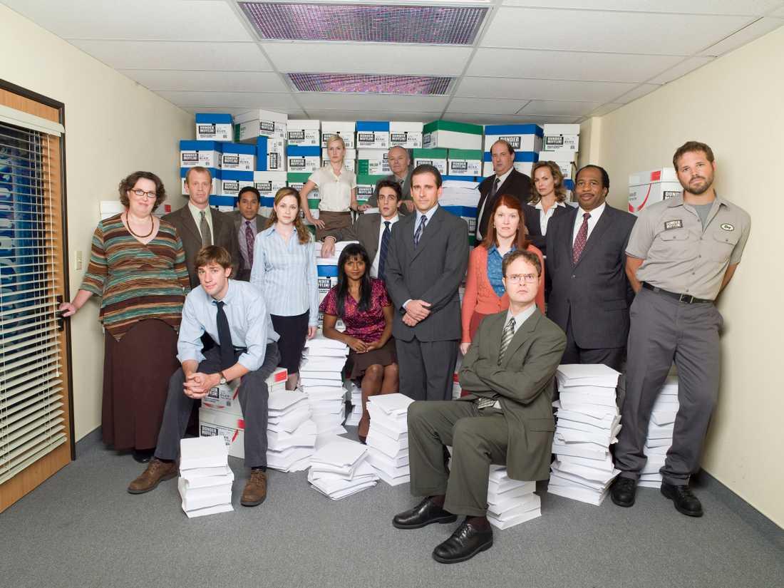 """Gänget i """"The Office"""""""