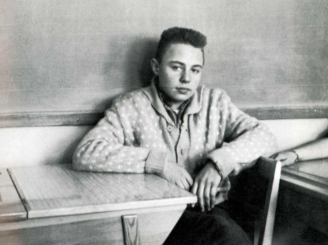 Jerry Williams när han gick i skolan.