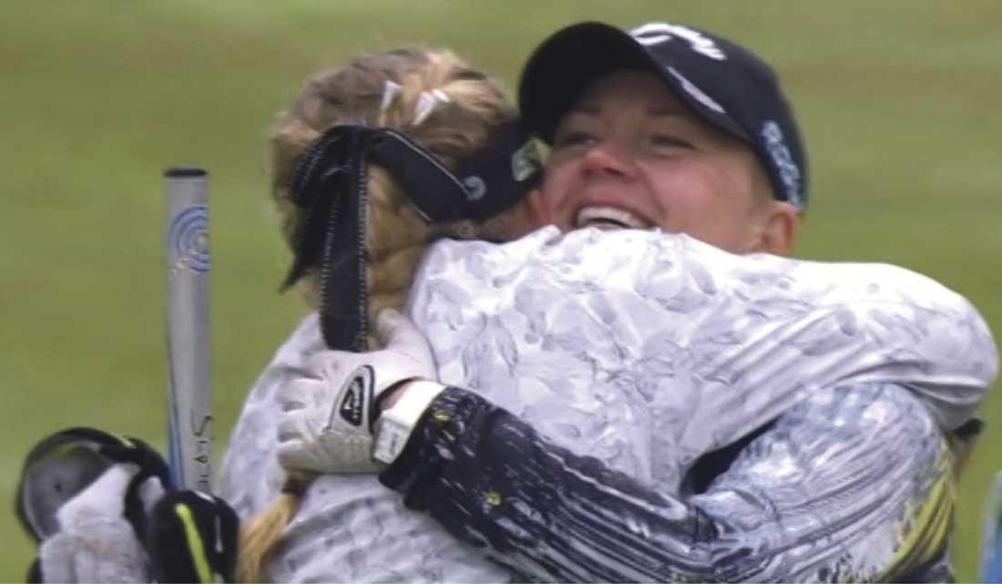 Linda Wessberg, 38, och Cajsa Persson, 24 gick hela vägen och tog guld.