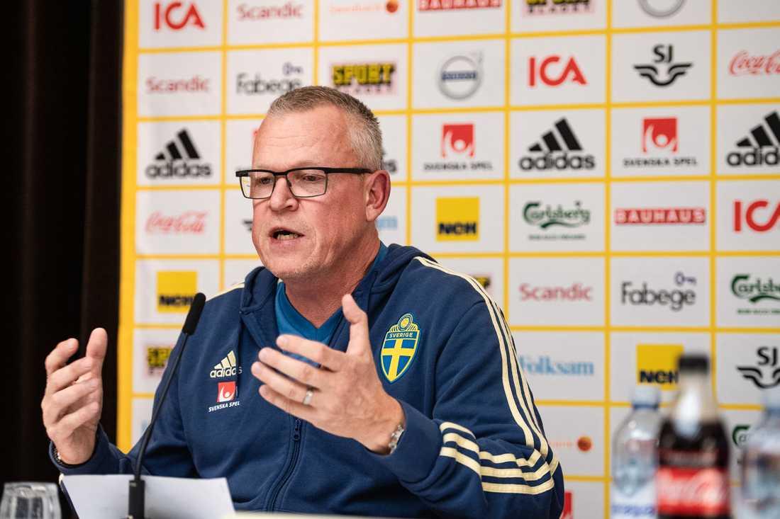 Sveriges förbunskapten Janne Andersson.