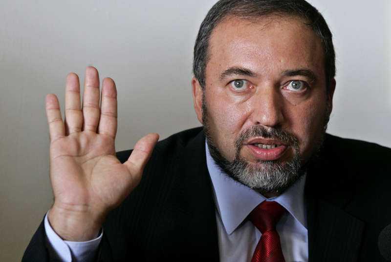 Israels utrikesminister Avigdor Lieberman.