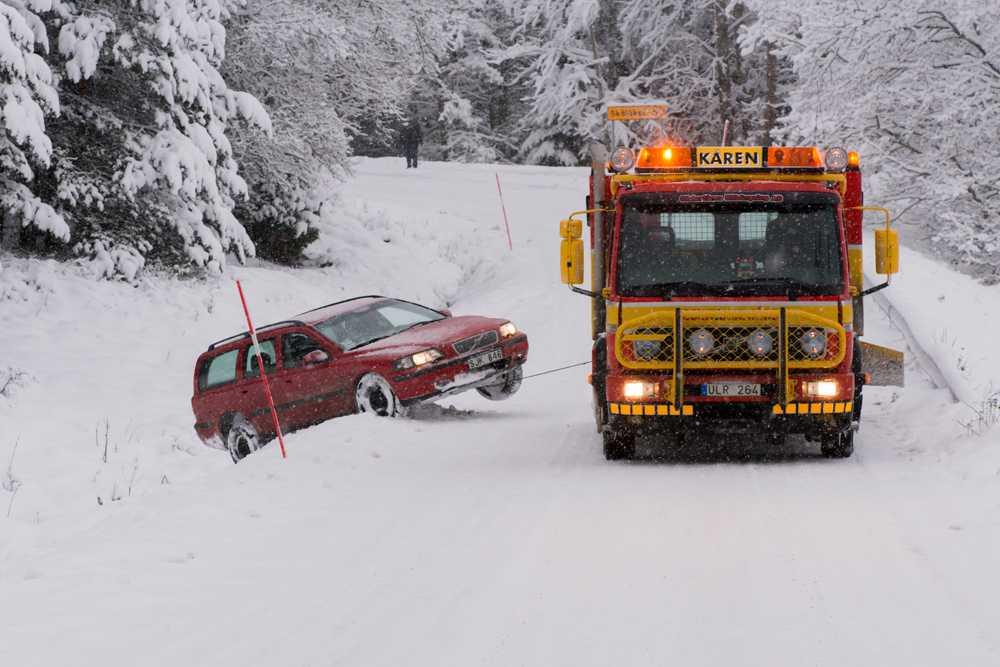 Dikeskörning nära Dalarö.