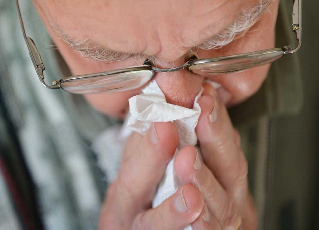 Årets influensa väntas slå hårdare mot äldre. Arkivbild.