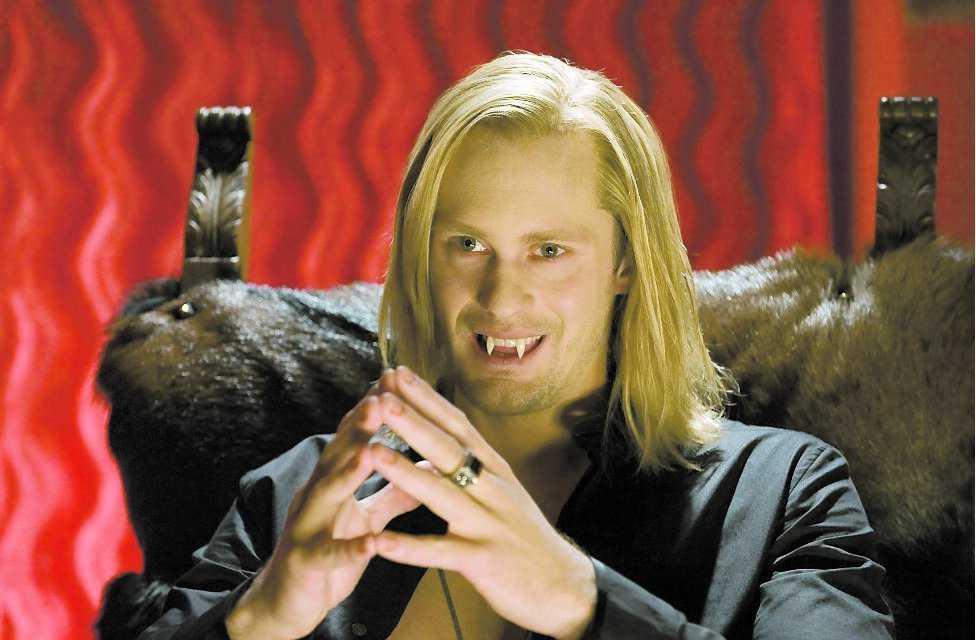 """Alexander Skarsgård i rollen som Eric Northman i """"True blood""""."""