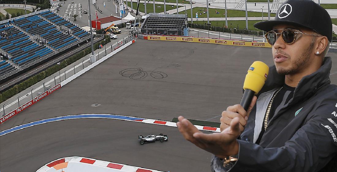Rysslands GP är en av flera sömniga Formel 1- banor, tycker VM-ledaren Lewis Hamilton.