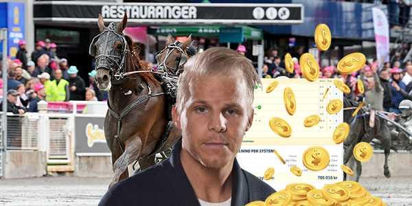 Sportbladets Christoffer Wickman satte sju rätt på sitt andelssystem och drog in 1,6 miljoner kronor.