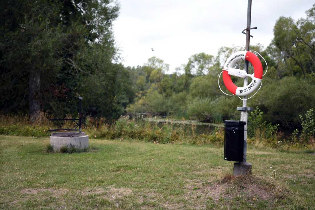 I början av augusti hittades en men i 50-årsåldern död i en park i Huskvarna
