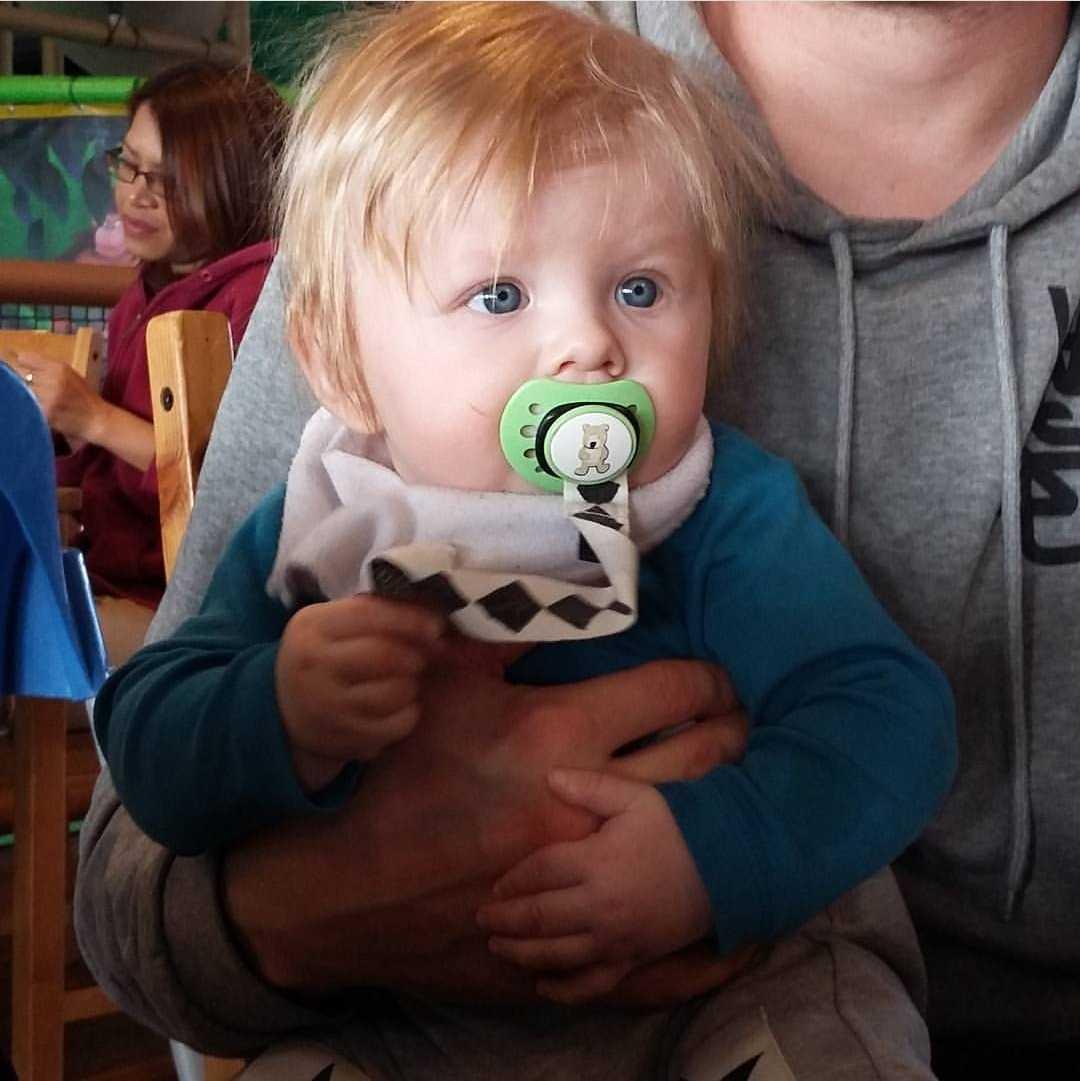 """Johanna Persson från Frösön, Östersund: """"Nilo som i dag är fyra år hade mycket hår som liten, även hans äldre syster Nea föddes med en riktig kalufs""""."""