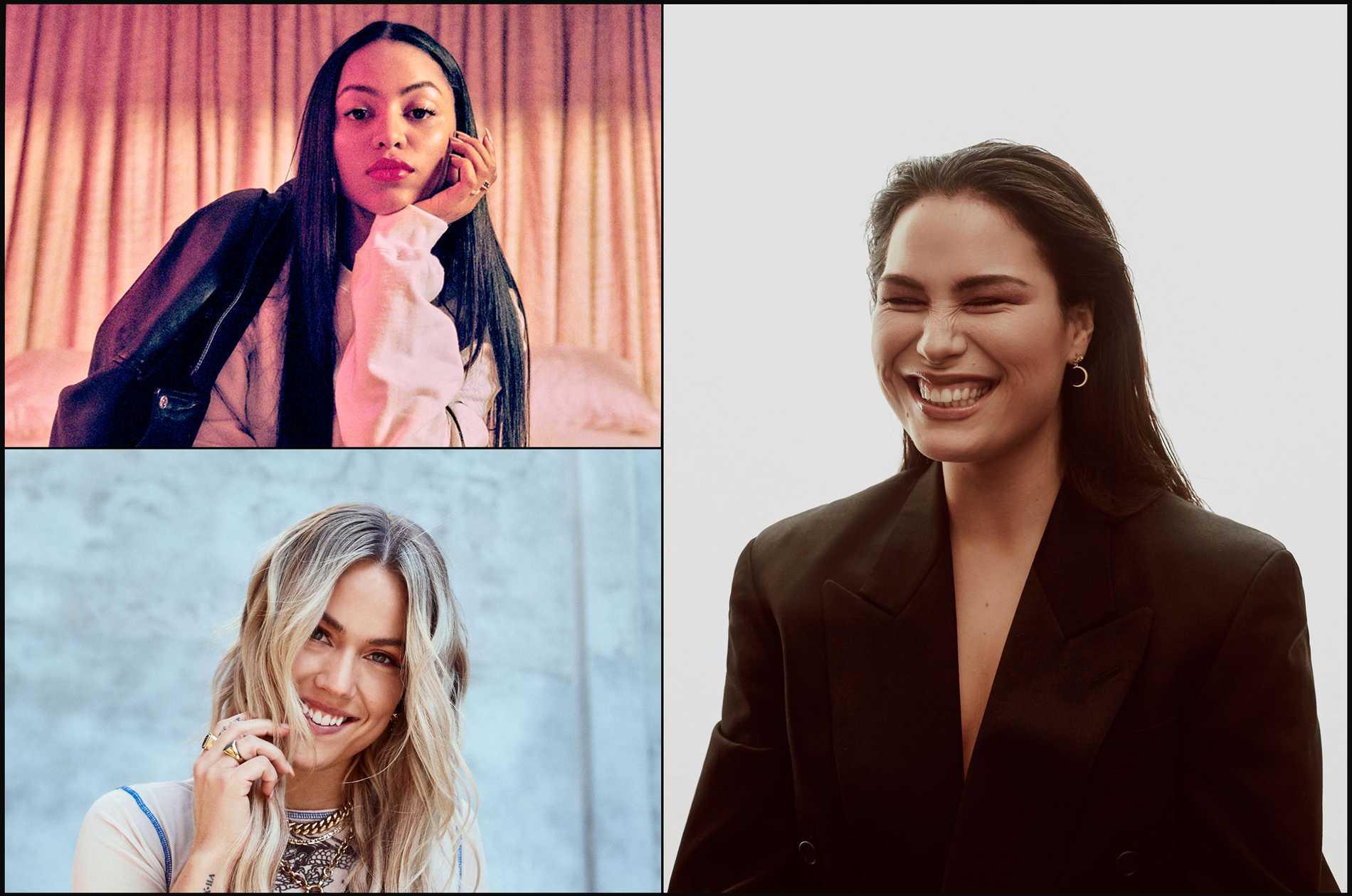 """Awa, Julie Bergan och Molly Hammar släpper låten """"Get to know me first"""" på Spotify."""