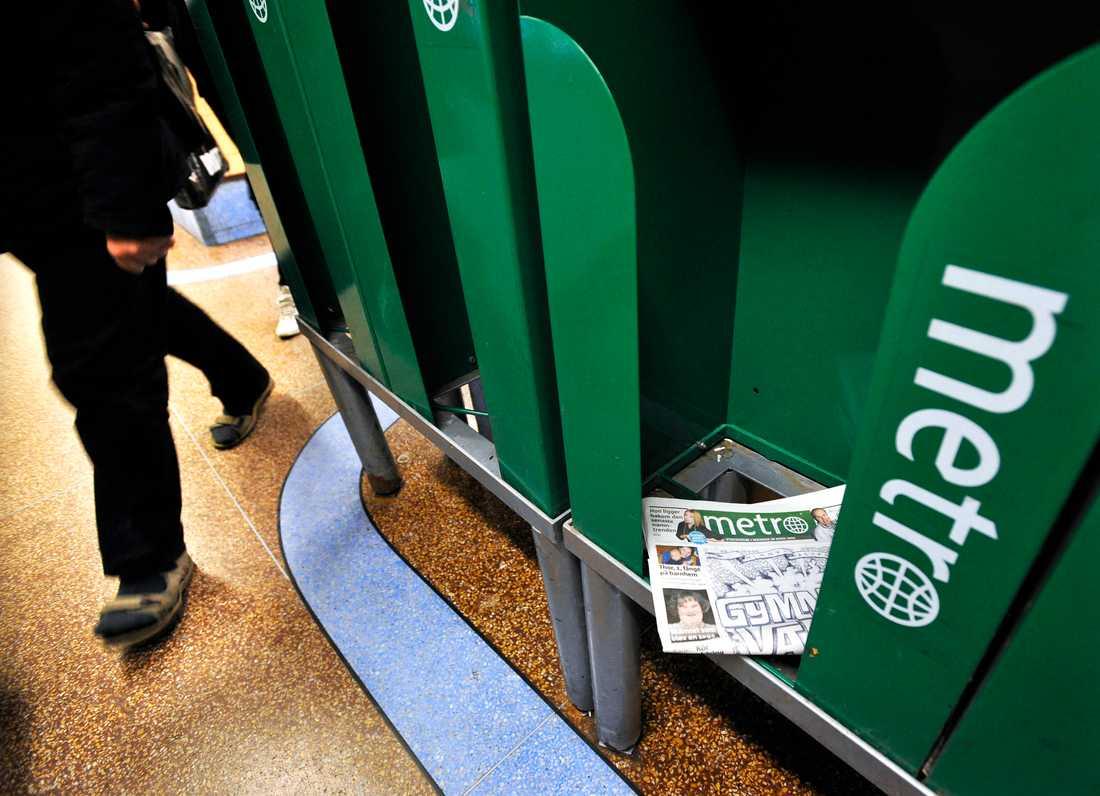 Det ser allt mörkare ut för journalisterna på tidningen Metro. Arkivbild.