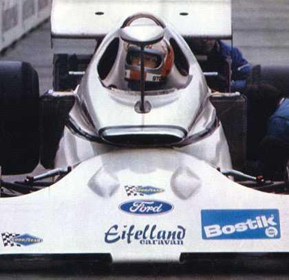 5. Eifelland 21 Rolf Stommelen körde en bil där föraren hade vissa problem med sikten, det fanns bara en backspegel mitt framför föraren. Möjligen var det en av anledningarna till att bilen, designad av Luigi Colani, bara överlevde åtta lopp.