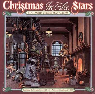 Star Wars- robotarna Egentligen inte så värst fult omslag. Men idén att R2D2 ska visslar sig genom White Christmas och andra julklassiker är för fantastisk för att glömmas bort.