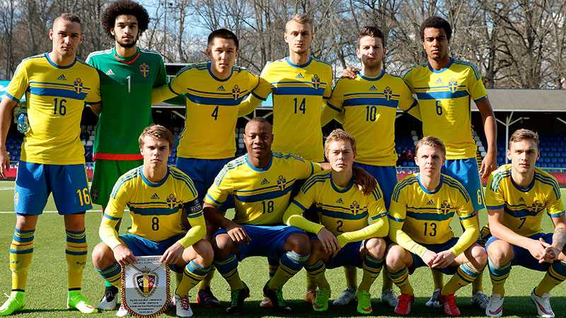 Startelvan i svenska U19-landslaget.